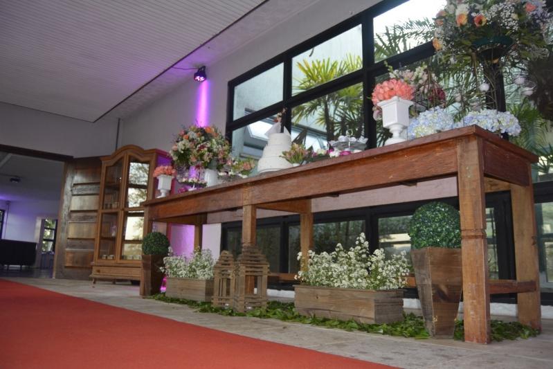 Aluguel de Salão de Festa Rustico Alto do Pari - Salão de Festa com Buffet