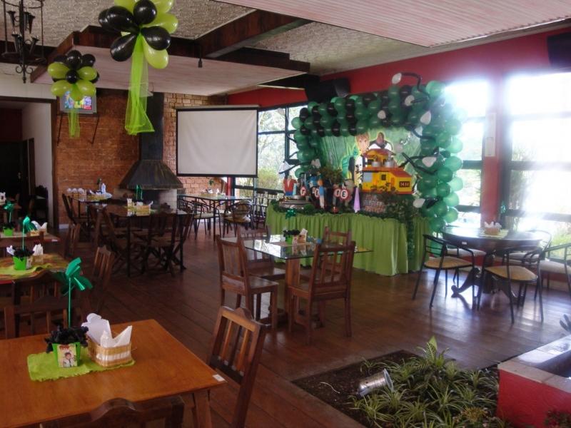 Aluguel de Salão para Festa Infantil Cachoeirinha - Salão de Festa Rustico