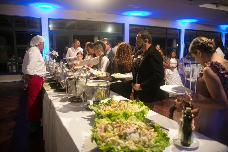 Buffet para Casamento Rústico Santana - Buffet de Festa de Casamento