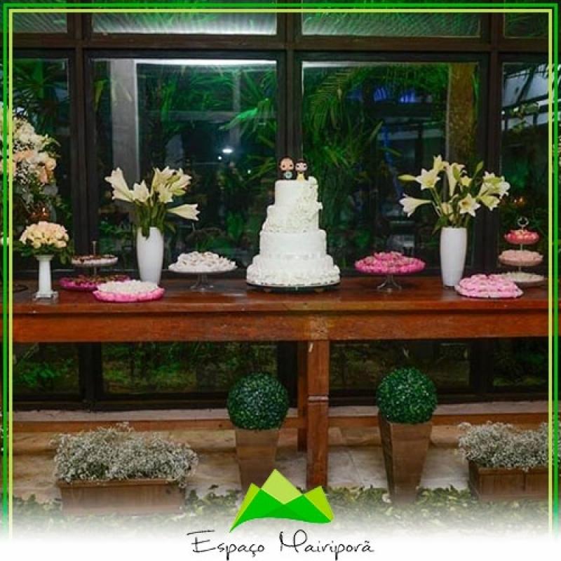 Buffet para Casamento Valor Parque Mandaqui - Espaço para Casamento Festa