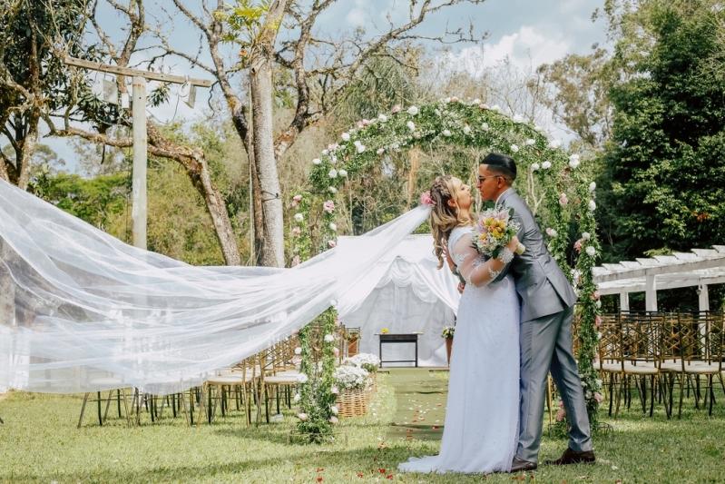 Empresa de Festa de Casamento ao Ar Livre Parque do Carmo - Festa Casamento