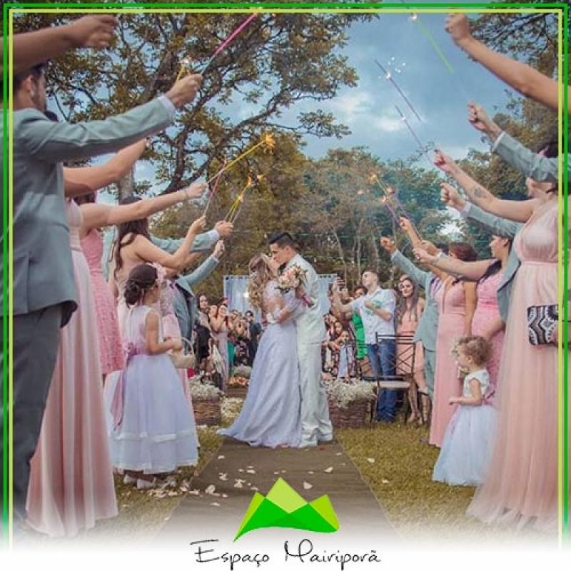 Espaço para Casamento com Buffet Preço Tucuruvi - Espaço para Casamento no Campo
