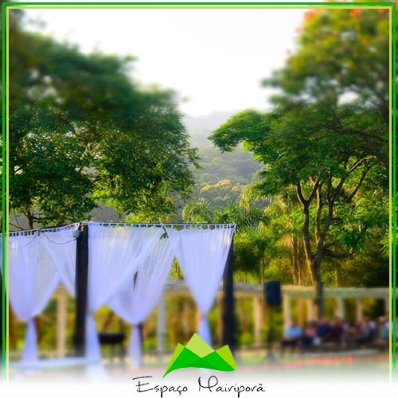 Espaço para Casamento com Buffet Valor Jardim São Paulo - Espaço para Casamento ao Ar Livre