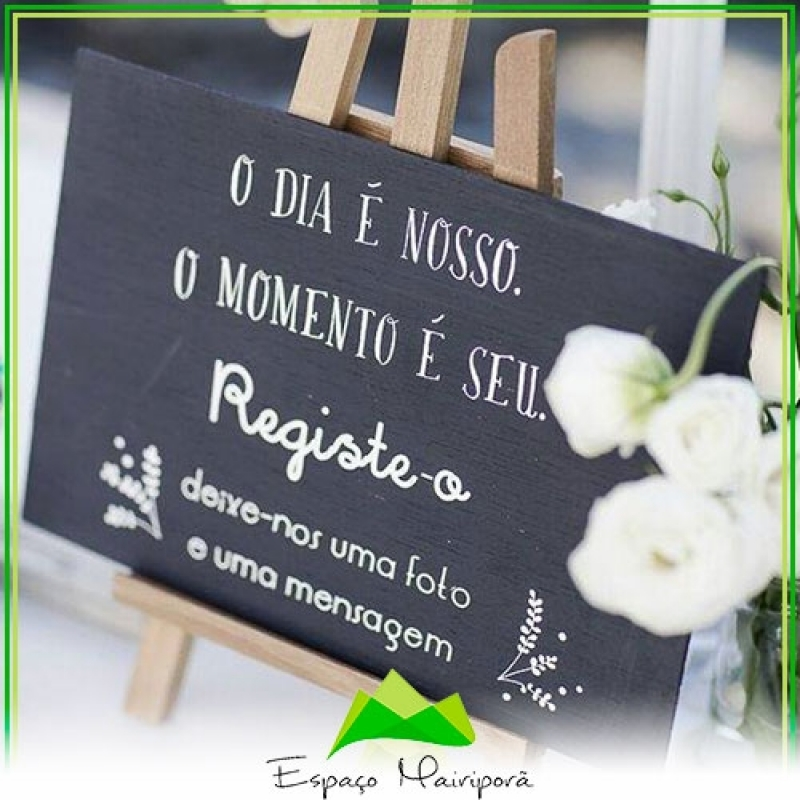 Espaço para Casamento Festa Preço Serra da Cantareira - Espaço para Casamento no Campo