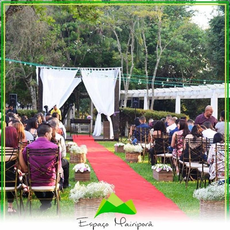 Espaço para Casamento Festa Valor Ermelino Matarazzo - Espaço para Casamento no Campo