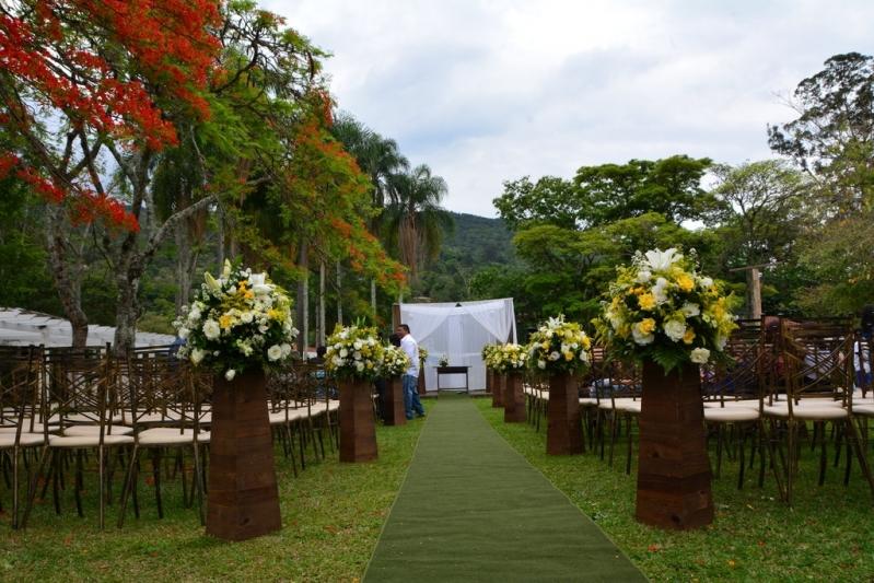 Espaço para Festa de Mini Wedding Orçamento Mairiporã - Espaço para Festa de Debutante