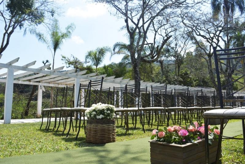 Espaço para Festa de Mini Wedding José Bonifácio - Espaço de Festa para Confraternização