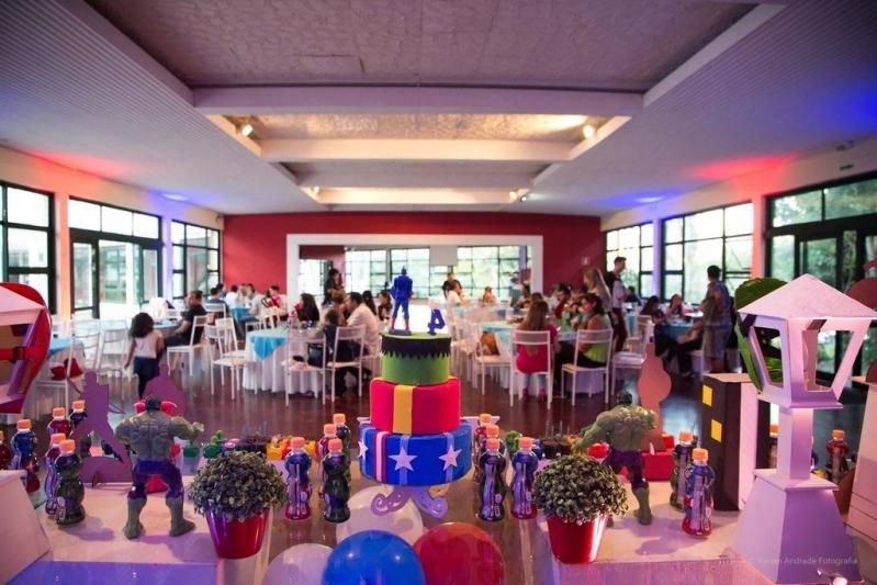 Espaço para Festa Infantil Orçar Caieiras - Espaço para Festa de Debutante