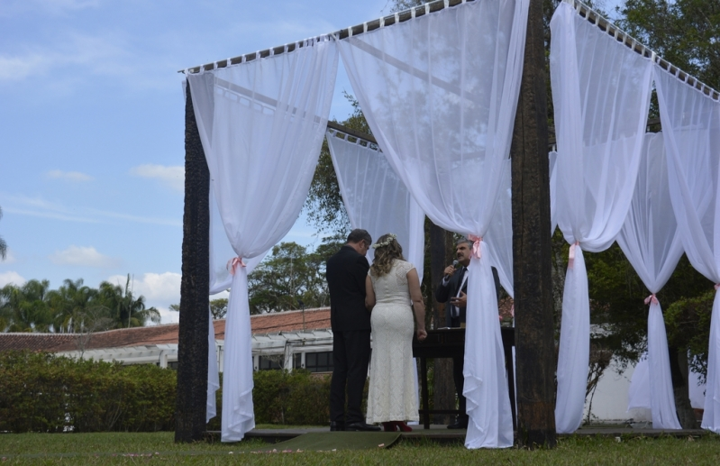 Festa de Bodas de Casamento Jaçanã - Festa de Casamento ao Ar Livre