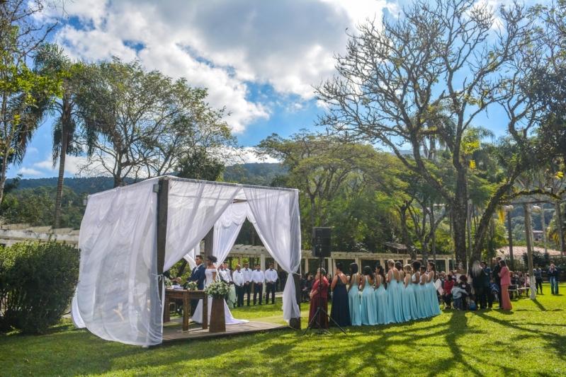 Festa de Casamento ao Ar Livre José Bonifácio - Festa Casamento