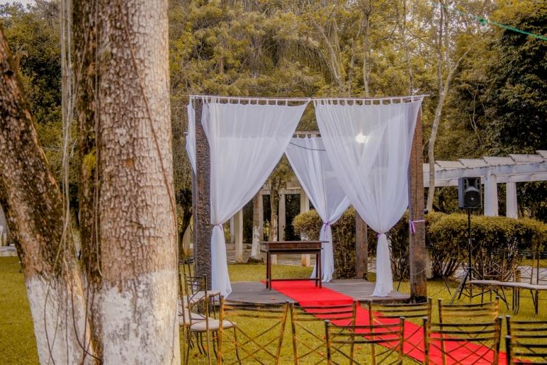Festa de Casamento no Sitio Preço Jaçanã - Festa Casamento