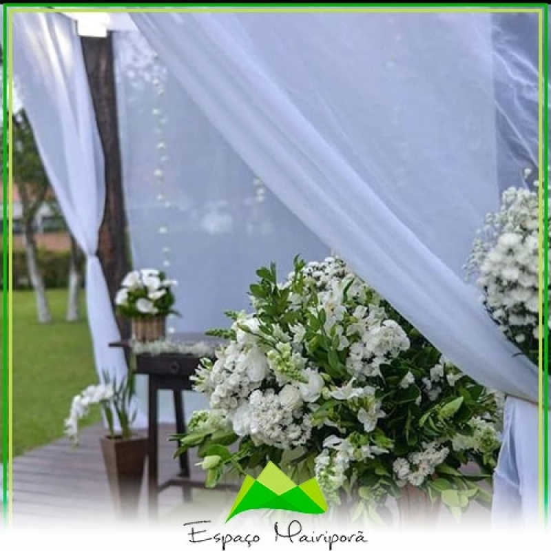 Local para Festa de Casamento Preço Serra da Cantareira - Espaço para Casamento ao Ar Livre