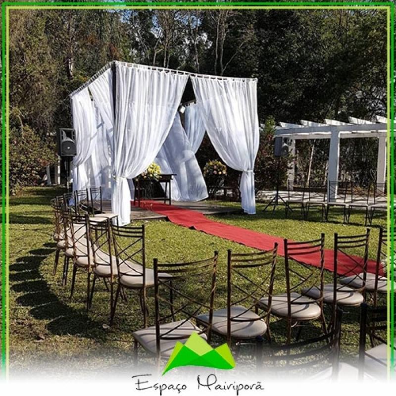 Local para Festa de Casamento Valor Caieiras - Espaço para Casamento no Campo