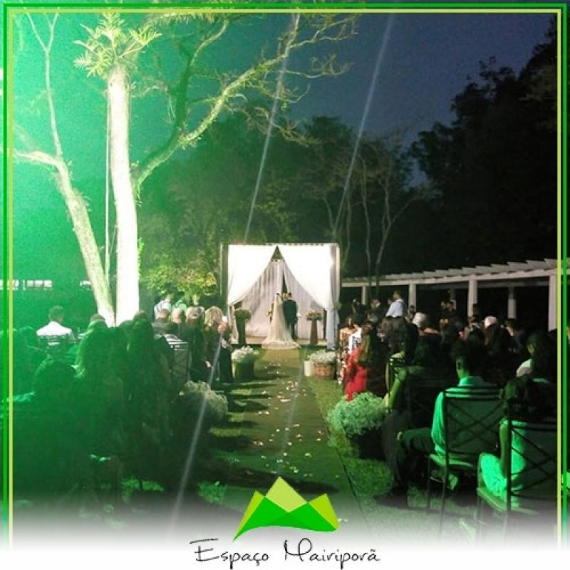 Onde Encontro Buffet de Jantar para Casamento Casa Verde - Espaço para Casamento ao Ar Livre