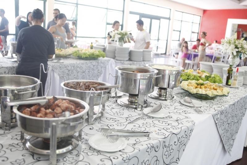 Onde Tem Buffet de Festa para Confraternização Parque Anhembi - Buffet de Festa para Eventos