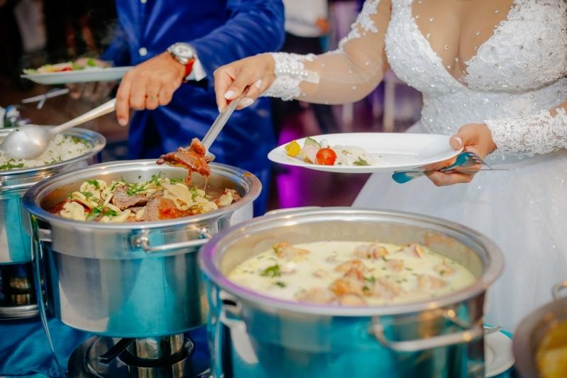 Preço de Buffet Chique para Casamento Vila Esperança - Buffet de Festa de Casamento