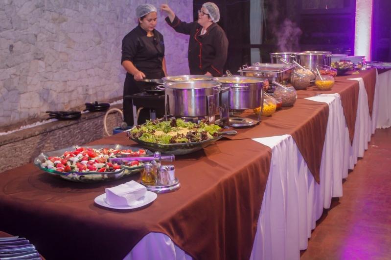 Preço de Buffet para Casamento Simples Santana - Buffet de Festa de Casamento