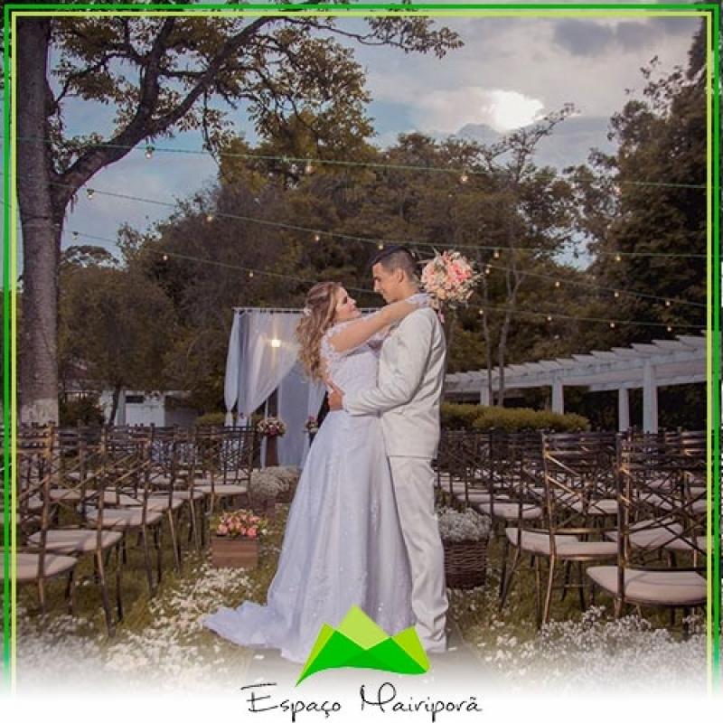 Quanto Custa Espaço para Casamento no Campo Cantareira - Espaço para Casamento com Buffet