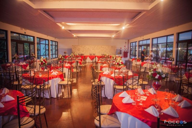 Salão de Festa com Buffet Valores Vila Endres - Salão de Festa para Locação