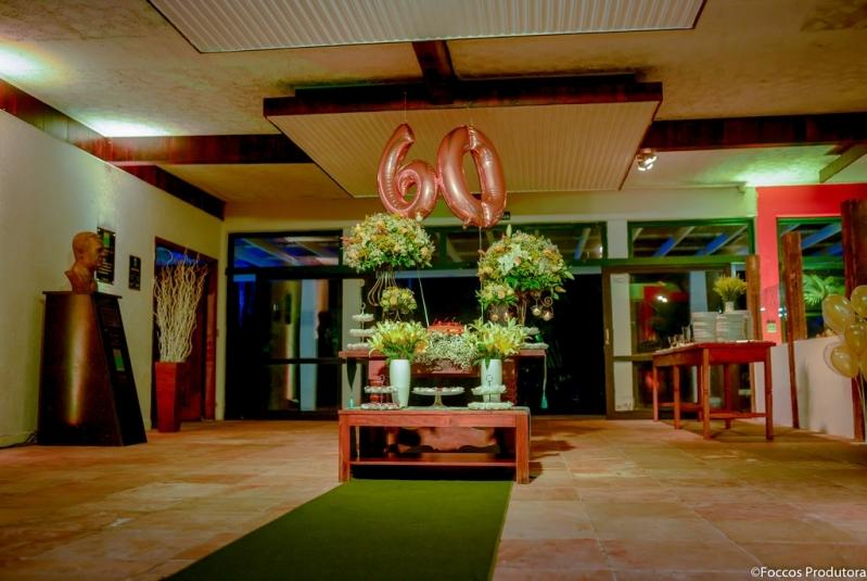 Salão de Festa e Eventos Lauzane Paulista - Salão de Festa Rustico