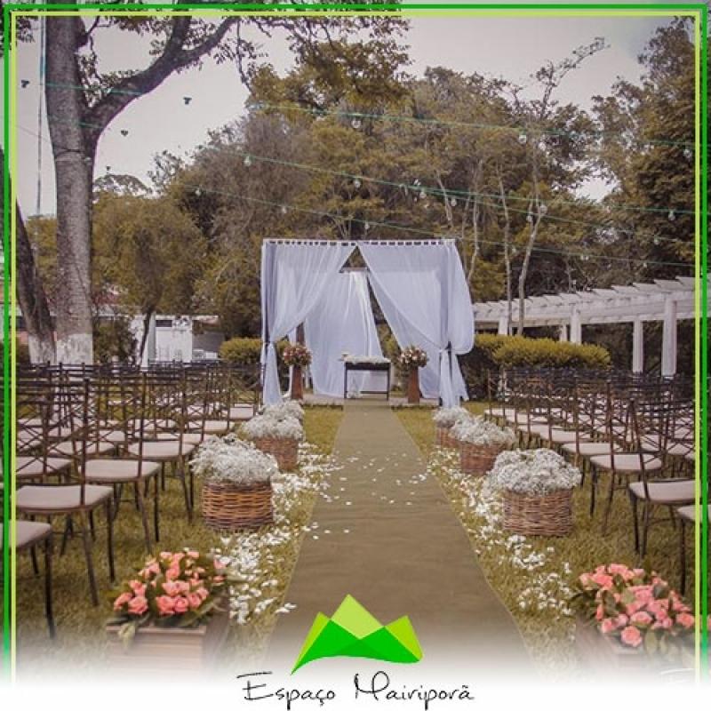 Salão de Festa para Casamento Valor Itaquera - Espaço para Casamento no Campo