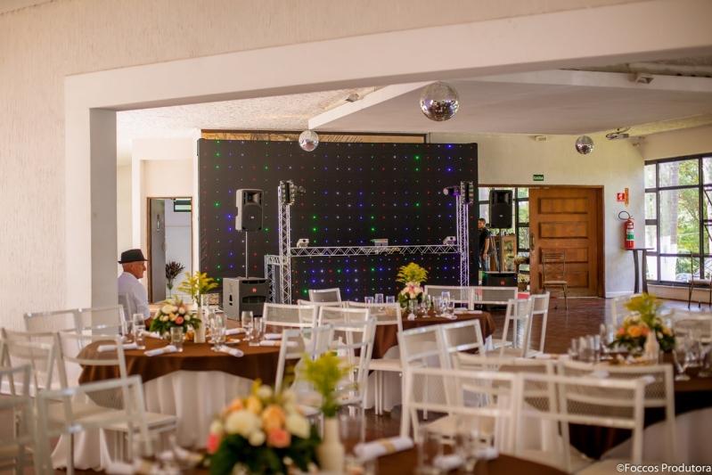 Salão de Festa para Debutante Orçamento Alto do Pari - Salão de Festa para Casamento Rústico