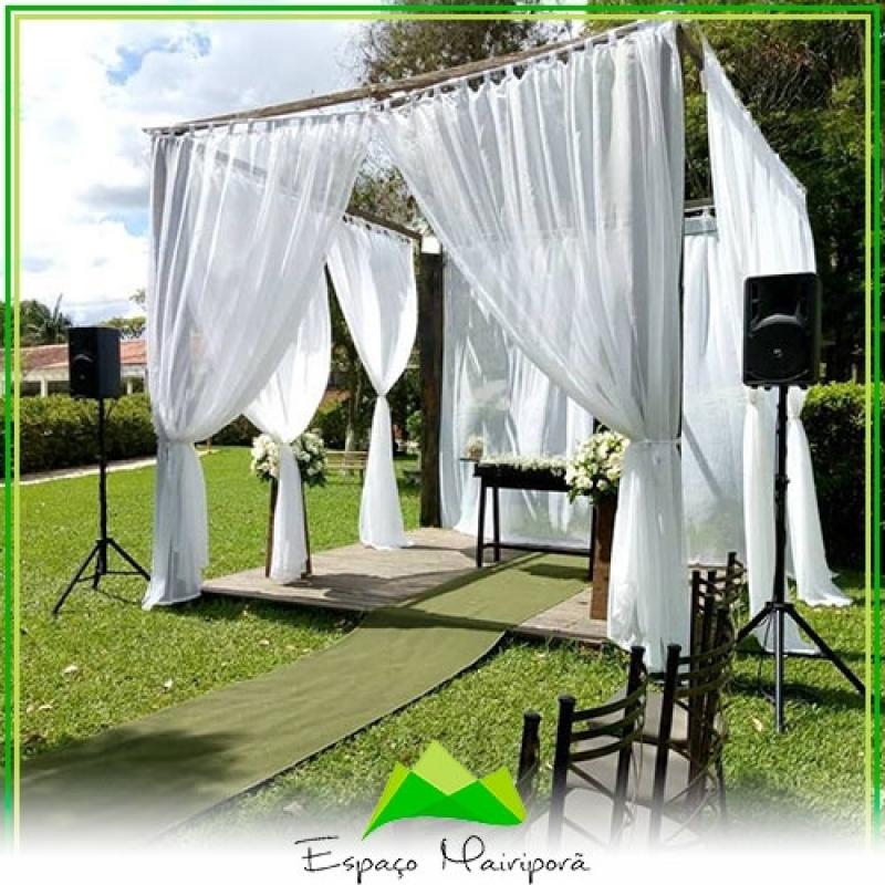 Salão para Casamento com Buffet Vila Endres - Espaço para Casamento no Campo