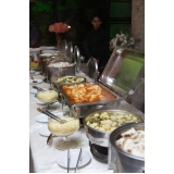 alugar buffet de festa adulto Engenheiro Goulart