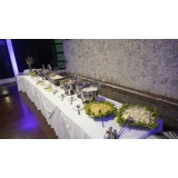 aluguel de buffet para festa de casamento rústico Parque do Carmo