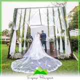 aluguel de sítio com capela para casamento Ponte Rasa
