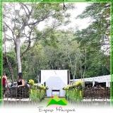 aluguel de sítio para casamento no campo Pompéia