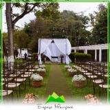 aluguel de sítio para casamento próximo Anália Franco