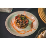 buffet chique para casamento preços Jardim São Paulo