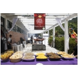buffet de festa adulto orçamento Parque do Carmo