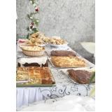 buffet de festa para confraternização
