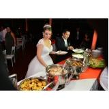 buffet de festa de casamento orçamento Franco da Rocha