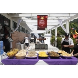 buffet de festa para confraternização Tucuruvi