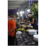 buffet de festa para eventos preços Brasilândia