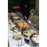 buffet para buffet de festa de 15 anos Parque São Domingos