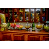 buffet para buffet para festa de 15 anos rústico Parque São Lucas