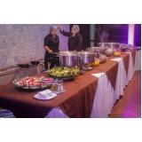 buffet para casamento simples