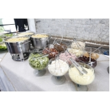 buffet para casamento mini wedding orçamento Jardim Guarapiranga