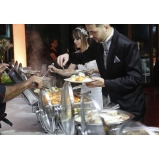 buffet para casamento mini wedding Vila Albertina