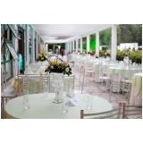 buffet para casamento no aberto preços Jardim Guarapiranga