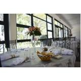 buffet para casamento no campo Ponte Rasa