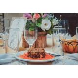 buffet para casamento rústico preços Santana