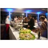 buffet para casamento rústico Vila Maria