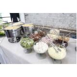 buffet para casamento simples Vila Esperança