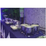buffet de casamento mini wedding