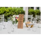 buffet para casamento no aberto